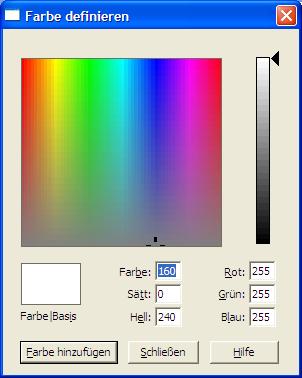 farbe word ändern